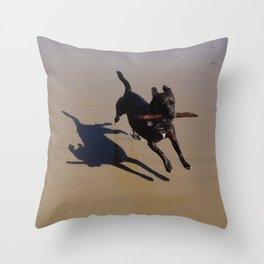Wonder Dog Throw Pillow