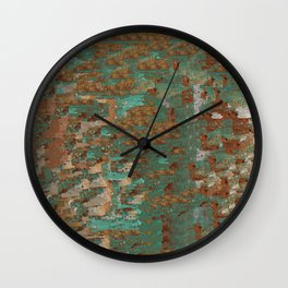 Southwestern Abstract Wall Clock