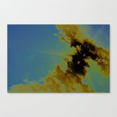 there's sulfur in the air Canvas Print