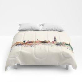 washington dc skyline Comforters