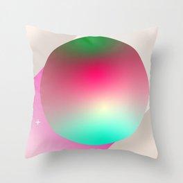 Ross 128 b Exoplanet space art Throw Pillow