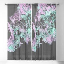 Santa Ana Winds Sheer Curtain