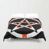pentagram Duvet Covers featuring Pentagram by Littlefox