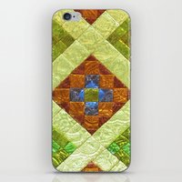 arab iPhone & iPod Skins featuring arab stained glass by tony tudor