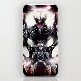 Kaworu Nagisa the Sixth. Rebuild of Evangelion 3.0 Digital Painting. iPhone Skin