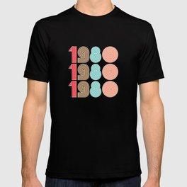 1980 / Retro Style 80s  T-shirt