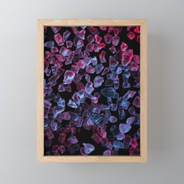 Salt Framed Mini Art Print