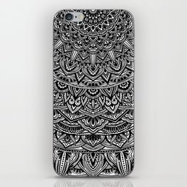 Zen Black and white Mandala iPhone Skin
