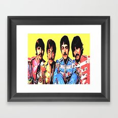 sgt.pepper Framed Art Print