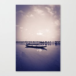 Mekong still Canvas Print