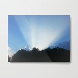 DON'T BE SHY MY CLOUDS Metal Print