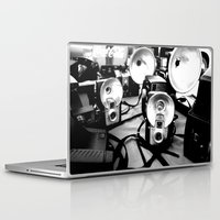 cameras Laptop & iPad Skins featuring Cameras by Yancey Wells