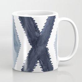 Del Rio Watercolor in Blue Coffee Mug