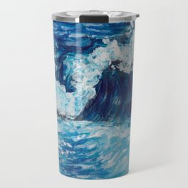 Crest of a Wave Travel Mug