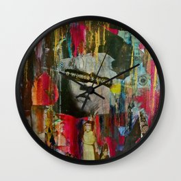 A Woman's Secret Wall Clock