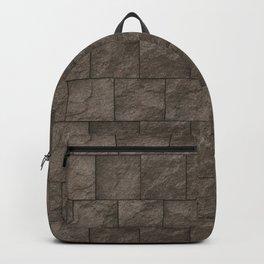 Stone Block Wall Backpack