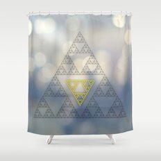 Geometrical 003 Shower Curtain