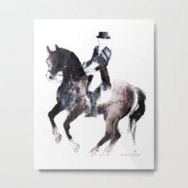 Horse (Canter pirouette II) Metal Print