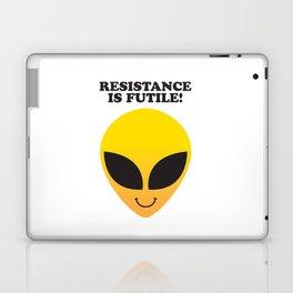 RESISTANCE IS FUTILE! Laptop & iPad Skin