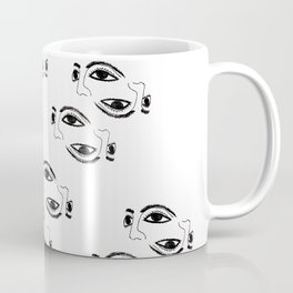 Ancient masks by poppyshome Coffee Mug