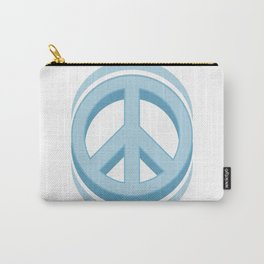 Peace sign Hippie symbol of peace #society6 #decor #buyart #artprint Carry-All Pouch
