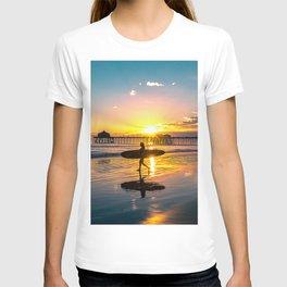Surf City USA - Little Surfer Girl T-shirt