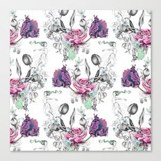 FLORAL GUST Canvas Print