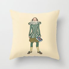 Outfit of Shakespeare Throw Pillow