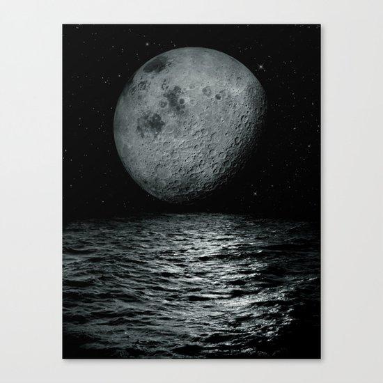 artificial satellite Canvas Print