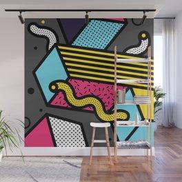 Memphis Pop-art Pattern IV Wall Mural