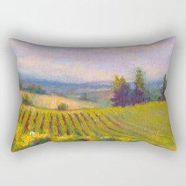 Fruit of the Vine Oregon Vineyard Rectangular Pillow