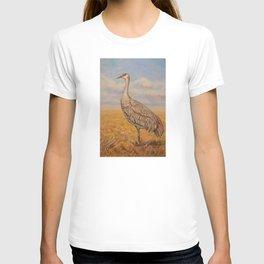 Majestic Crane T-shirt