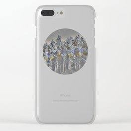 barrage (back to unnatural) Clear iPhone Case