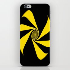 Abstract. Yellow Ribbon. iPhone & iPod Skin