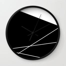 Moonokrom no 20 Wall Clock