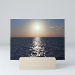 Sunset, Santorini Mini Art Print
