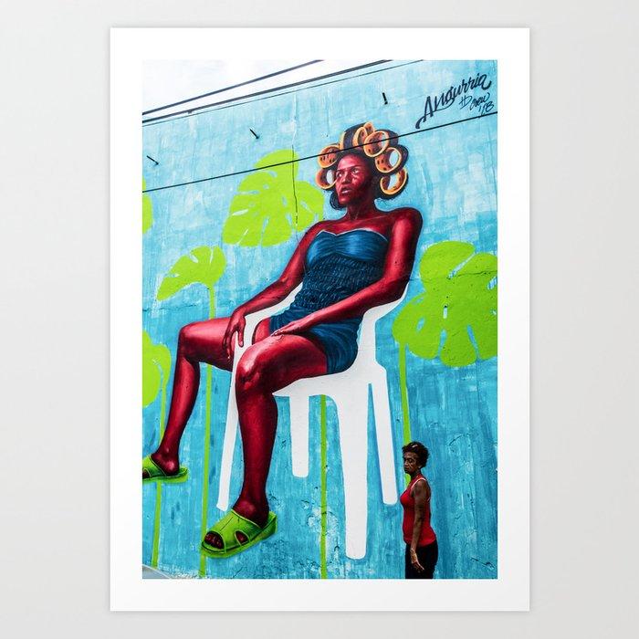 AFH 2018 Street Art 8 Art Print