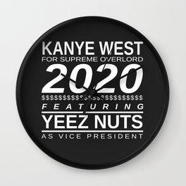 YEEZ NUTS Wall Clock