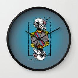 General Bird Skull Wall Clock
