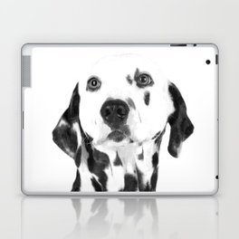 Black and White Dalmatian Laptop & iPad Skin