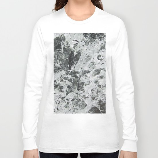 Marble waves Long Sleeve T-shirt