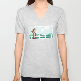 Fresh Air Runner Unisex V-Neck