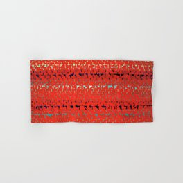 African American Masterpiece Alma Thomas, Red Sunset, Old Pond Concerto Hand & Bath Towel