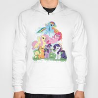 my little pony Hoodies featuring My Little pony by Paul Abstruse