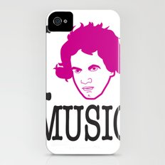I __ Music iPhone (4, 4s) Slim Case