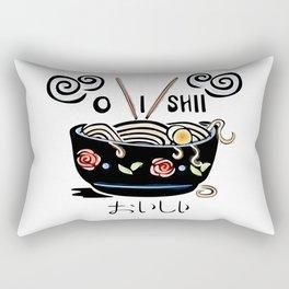 OISHII Noodle Bowl Rectangular Pillow