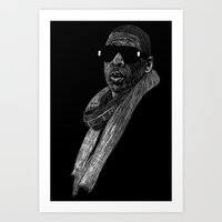 jay z Art Prints featuring Jay-Z by William