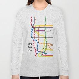 NYC Subway Long Sleeve T-shirt