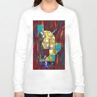 plants Long Sleeve T-shirts featuring plants by ebdesign