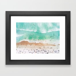 Beach Mood Gerahmter Kunstdruck
